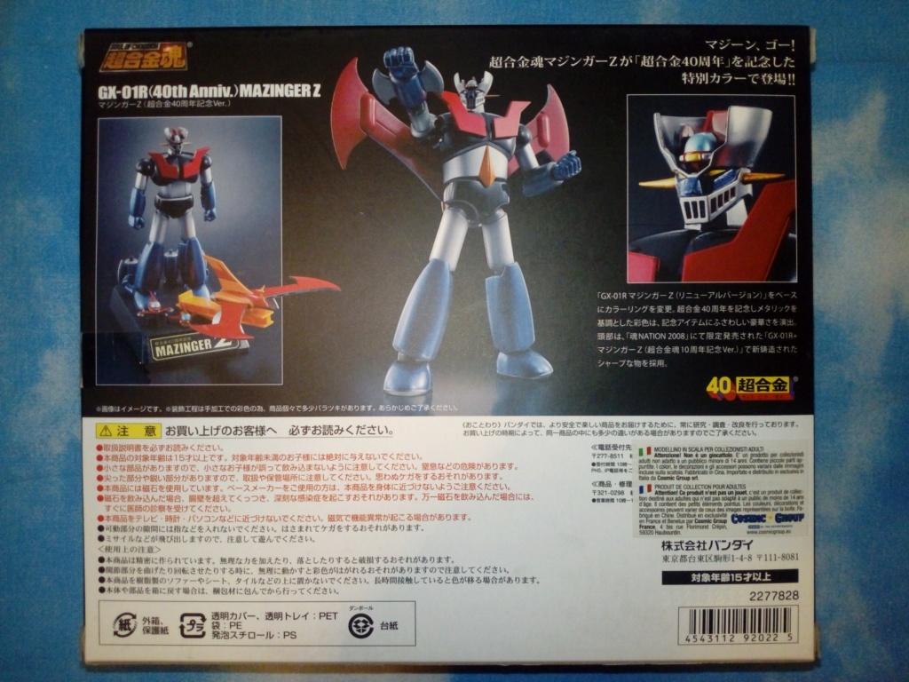 GX-01R 40th + GX-02R 2016 TN Z310