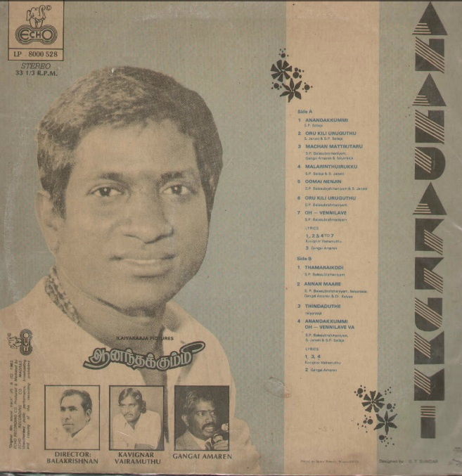 "Vinyl (""LP"" record) covers speak about IR (Pictures & Details) - Thamizh - Page 6 Anandh11"