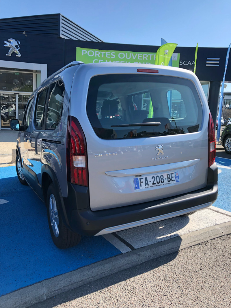 2018 - [Peugeot/Citroën/Opel] Rifter/Berlingo/Combo [K9] 15367812