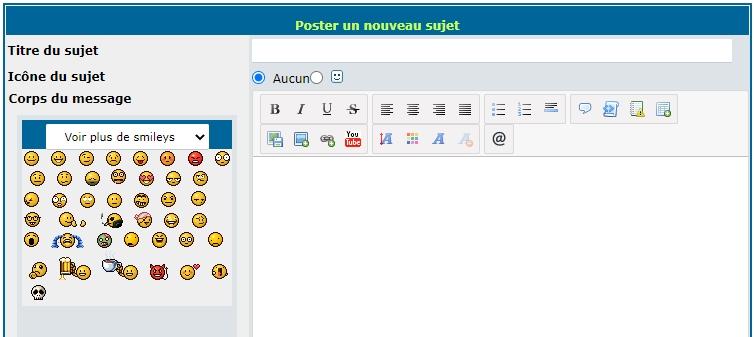 """Intégrer un bouton """"smiley"""" dans l'éditeur de message étendu Sans_t11"""