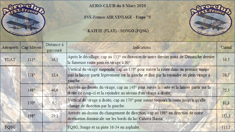 FSX-France Air Vintage Etape 75 Nav23610
