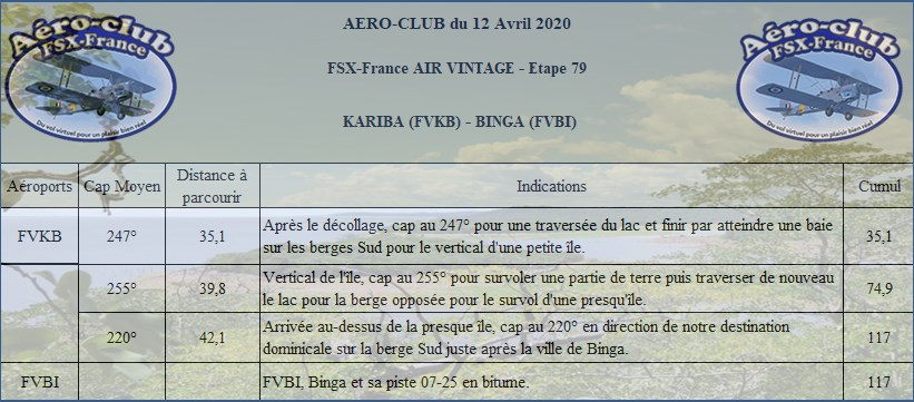 FSX-France Air Vintage Etape 79 Nav24010