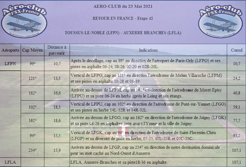 Retour en France Etape 42 Retou180