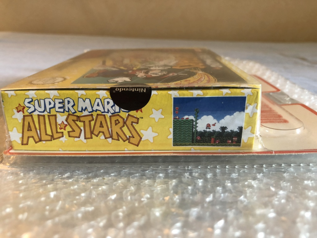 Authenticité super mario all stars blister rigide 0c021910