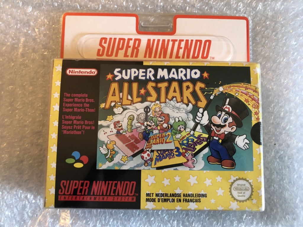 Authenticité super mario all stars blister rigide 92f49210