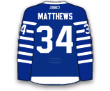 Toronto Maple Leafs reveal new third jerseys Matthe12