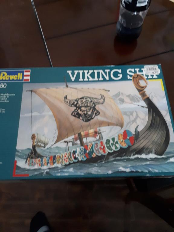 Bateau viking revell 1:50 20190528
