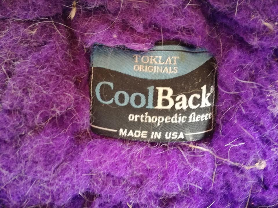 tapis coolback tolkat violet  45008010