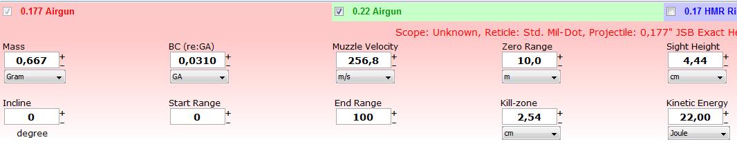 Calcul de la chute jsb heavy  17710