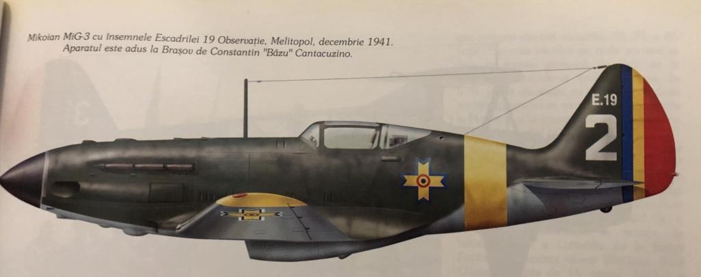 Mig 3 dans les couleurs royales roumaines ARR 17dc2410