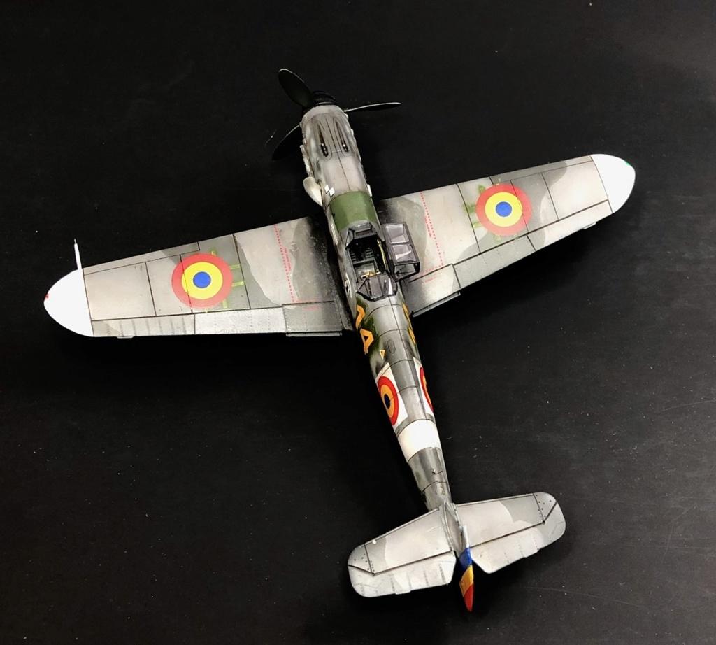 Bf 109 G2 dans l'Aviation Royale Roumaine en fin 1944 début 1945.  28874b10