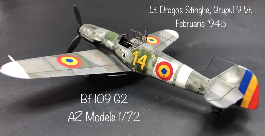 Bf 109 G2 dans l'Aviation Royale Roumaine en fin 1944 début 1945.  39ac8710