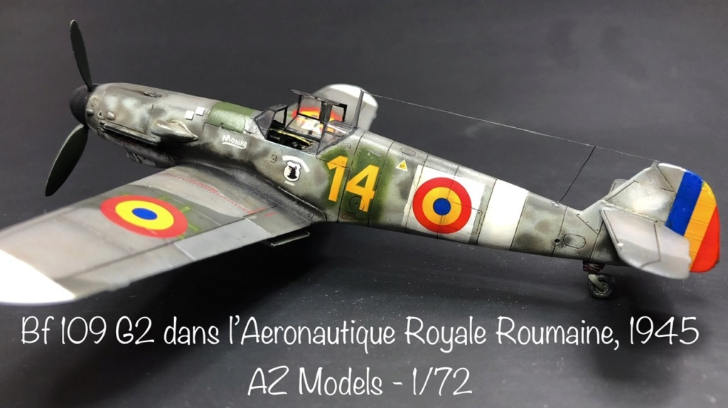 Bf 109 G2 dans l'Aviation Royale Roumaine en fin 1944 début 1945.  6de3c410