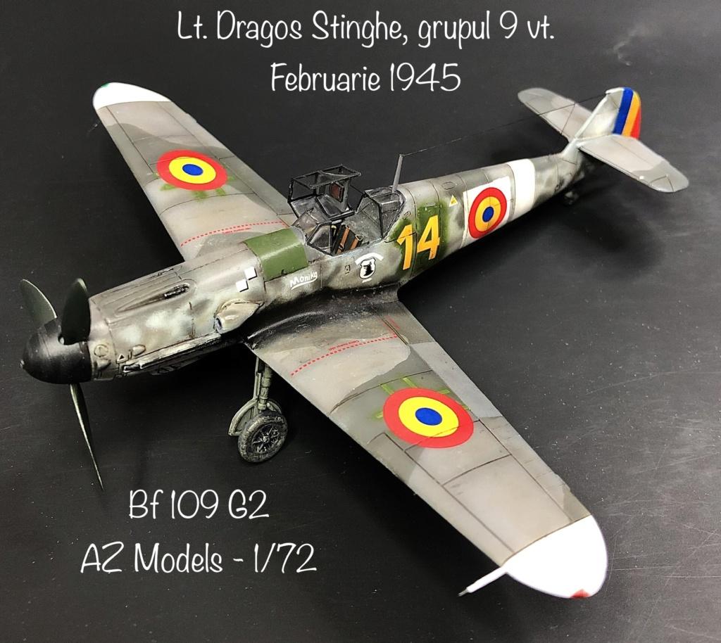 Bf 109 G2 dans l'Aviation Royale Roumaine en fin 1944 début 1945.  84eec110