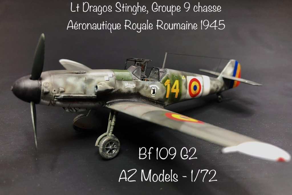 Bf 109 G2 dans l'Aviation Royale Roumaine en fin 1944 début 1945.  8b300e10