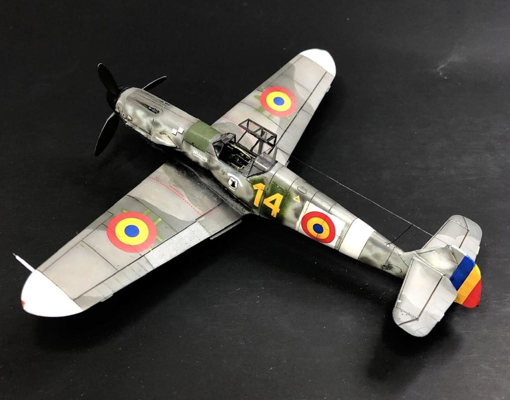 Bf 109 G2 dans l'Aviation Royale Roumaine en fin 1944 début 1945.  8d717710