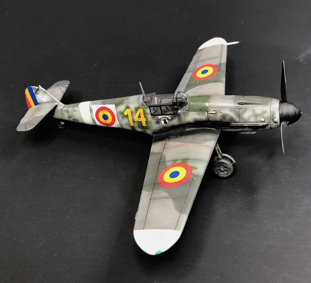 Bf 109 G2 dans l'Aviation Royale Roumaine en fin 1944 début 1945.  E0936a10
