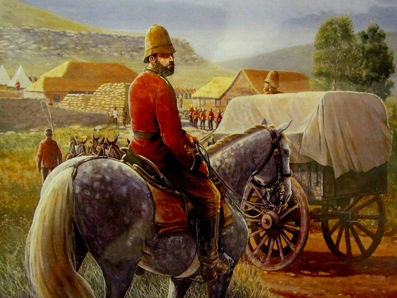 [CR] Zulus on the remparts, Rorke's drift 17965711