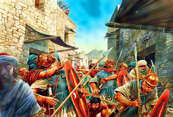 "CR ""Assault on the Temple"" SIEGE OF JERUSALEM AH 1c97ac10"