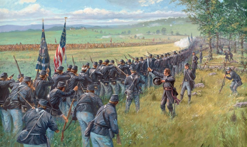 "Gettysburg Badges of courage scenario ""Sickles ' Folly"" 2 july 4pm 23f00010"
