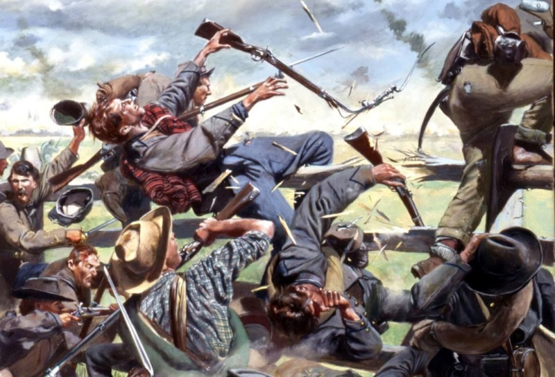 [CR] In Magnificent style: Pickett's charge, Gettysburg 3e31b810