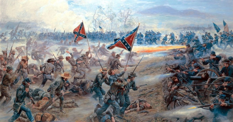 [CR] In Magnificent style: Pickett's charge, Gettysburg 3eb40c10