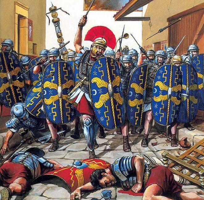 "CR ""Assault on the Temple"" SIEGE OF JERUSALEM AH 450cb510"