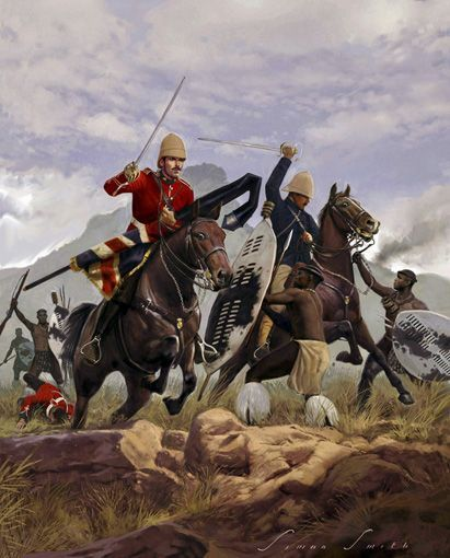 [CR] Zulus on the remparts, Rorke's drift 58c81811