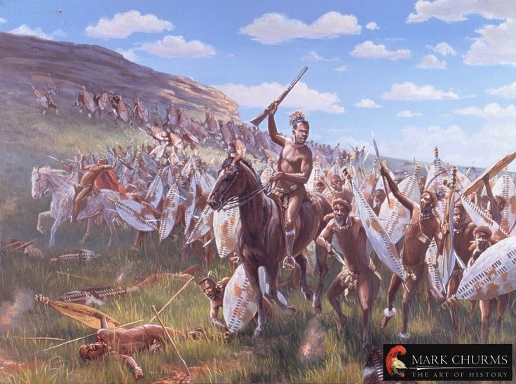 [CR] Zulus on the remparts, Rorke's drift 76785410