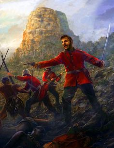 [CR] Zulus on the remparts, Rorke's drift C1380012