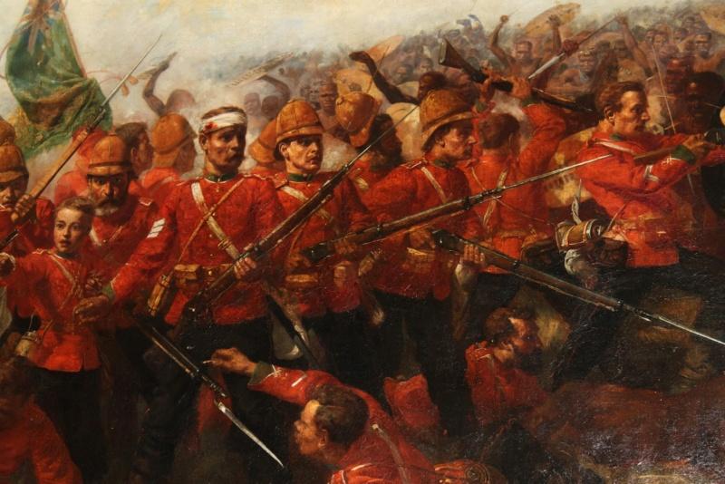 [CR] Zulus on the remparts, Rorke's drift Closeu10
