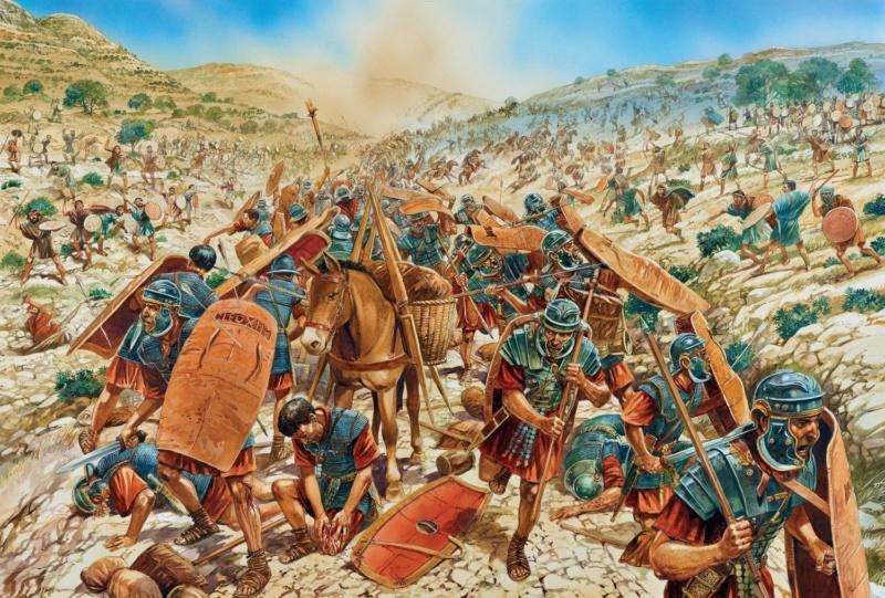 "CR ""Assault on the Temple"" SIEGE OF JERUSALEM AH Eeede410"