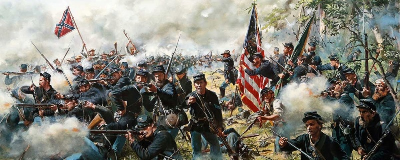 [CR] In Magnificent style: Pickett's charge, Gettysburg Gettys11