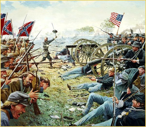 [CR] In Magnificent style: Pickett's charge, Gettysburg Gettys12