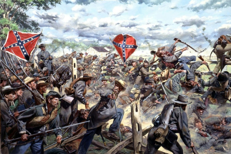 [CR] In Magnificent style: Pickett's charge, Gettysburg Gettys13