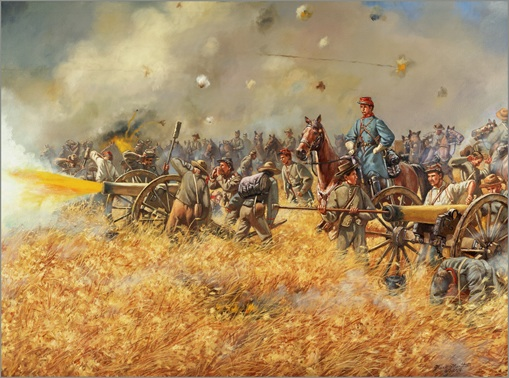 "Gettysburg Badges of courage scenario ""Sickles ' Folly"" 2 july 4pm Image12"