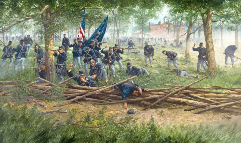 "Gettysburg Badges of courage scenario ""Sickles ' Folly"" 2 july 4pm Midday10"