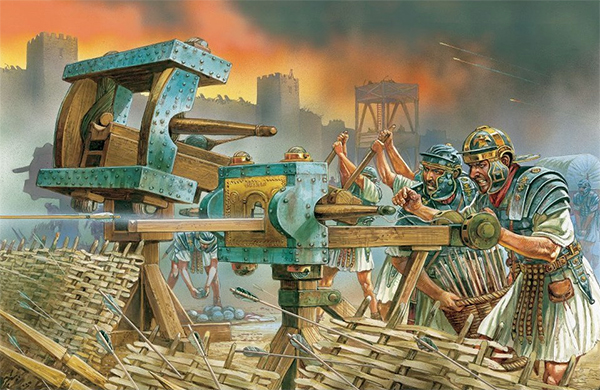 "CR ""Assault on the Temple"" SIEGE OF JERUSALEM AH Pic-610"