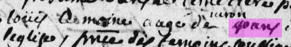 Saint-Jean-d'Abbetot 1714 + LEMOINE Louis Lemoin10