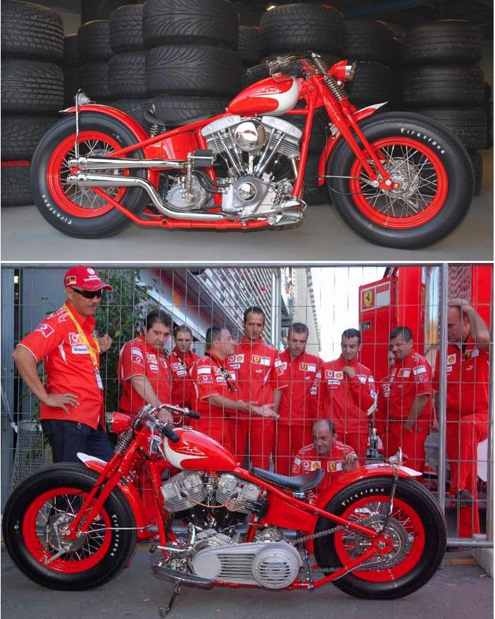 Ils ont posé avec une Harley, uniquement les People Capt1157