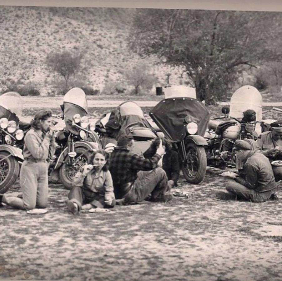 NOSTALGIA vieilles photos H-D d'époque Nosta127