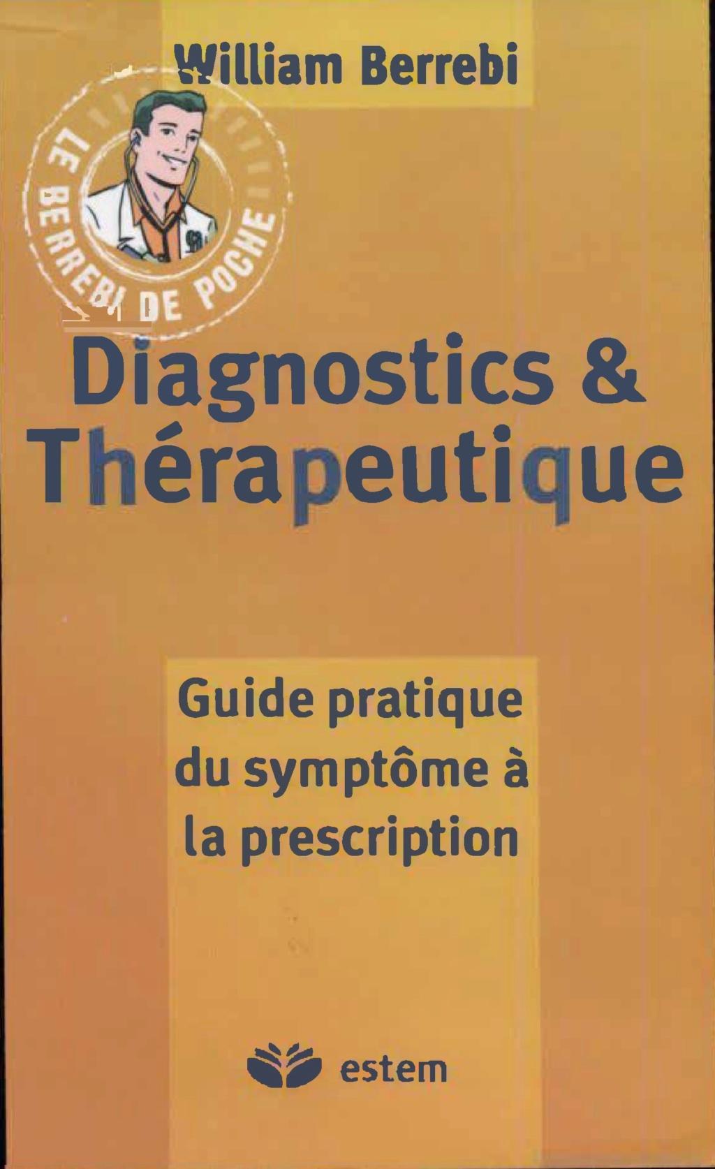 Livres Médicales - Diagnostics et thérapeutique : Guide pratique du symptôme à la prescription - Page 2 Diagno10