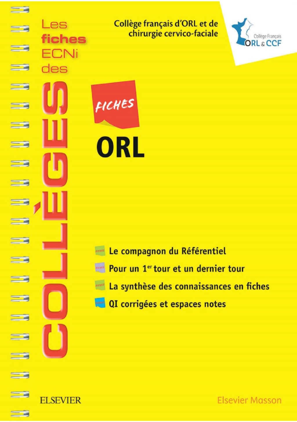Livres Médicales - Fiches ORL: Les fiches ECNi et QI des Collèges 2018 Fiches10