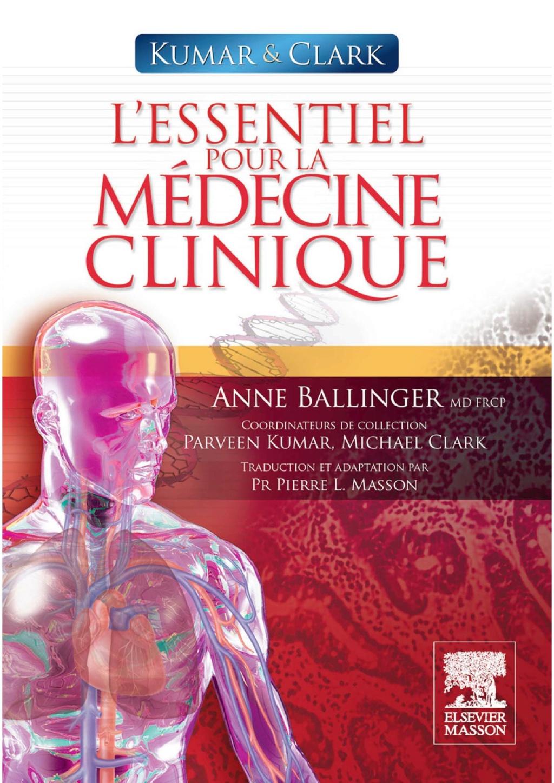 Livres Médicales - Kumar & Clark. L'essentiel pour la médecine clinique L_esse10