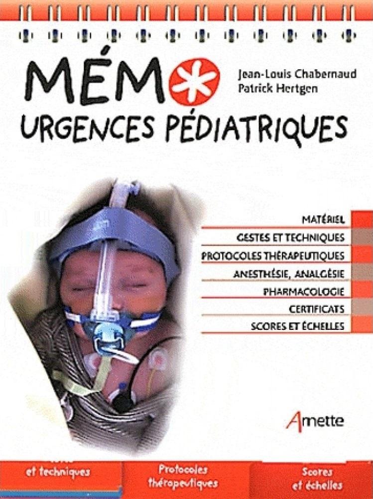 Livres Médicales - Mémo urgences pédiatriques Mzomo_10