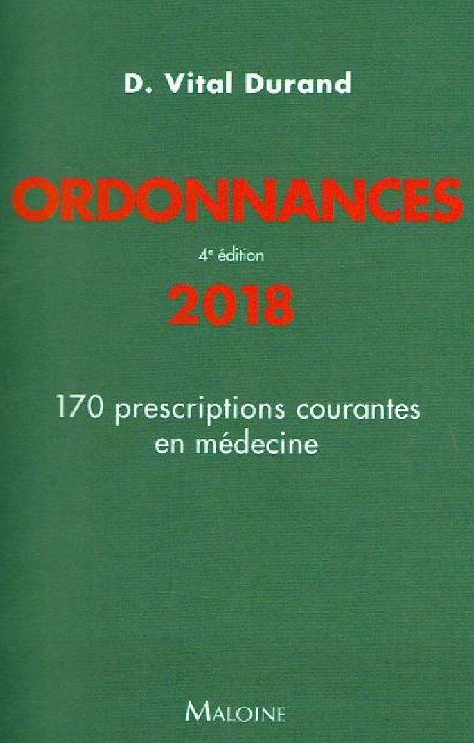 Livres Médicales - Ordonnances 2018 Ordonn10