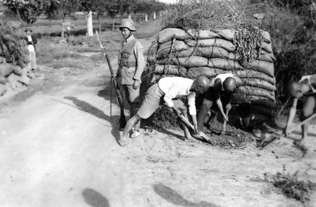 Bataillon Mixte d'Infanterie Coloniale de Chine (BMICC) / Shanghai années 1930 Shangh24