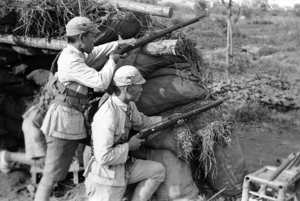Bataillon Mixte d'Infanterie Coloniale de Chine (BMICC) / Shanghai années 1930 Shangh25