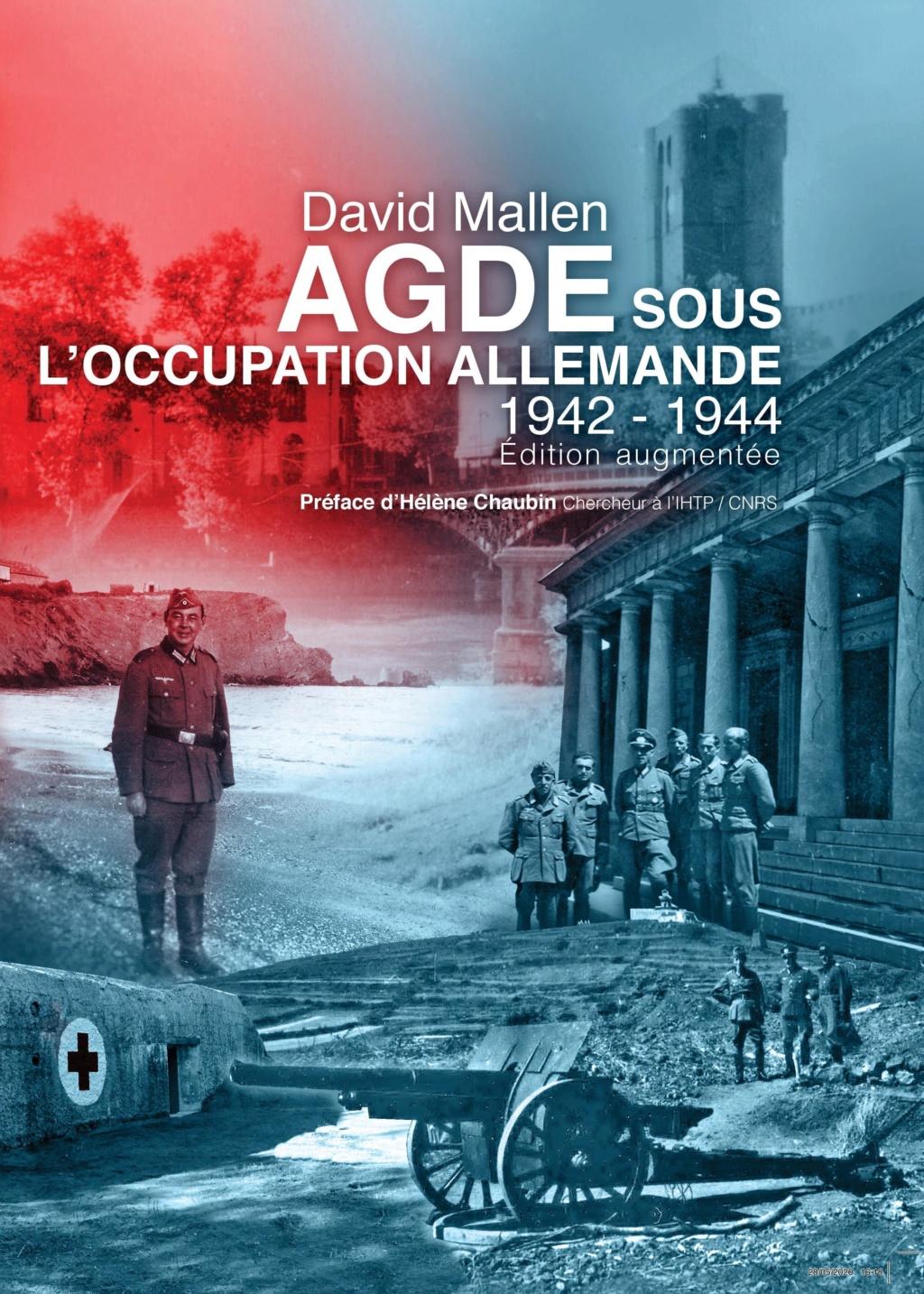 livre Agde sous l'occupation allemande 1942-1944  Couver10