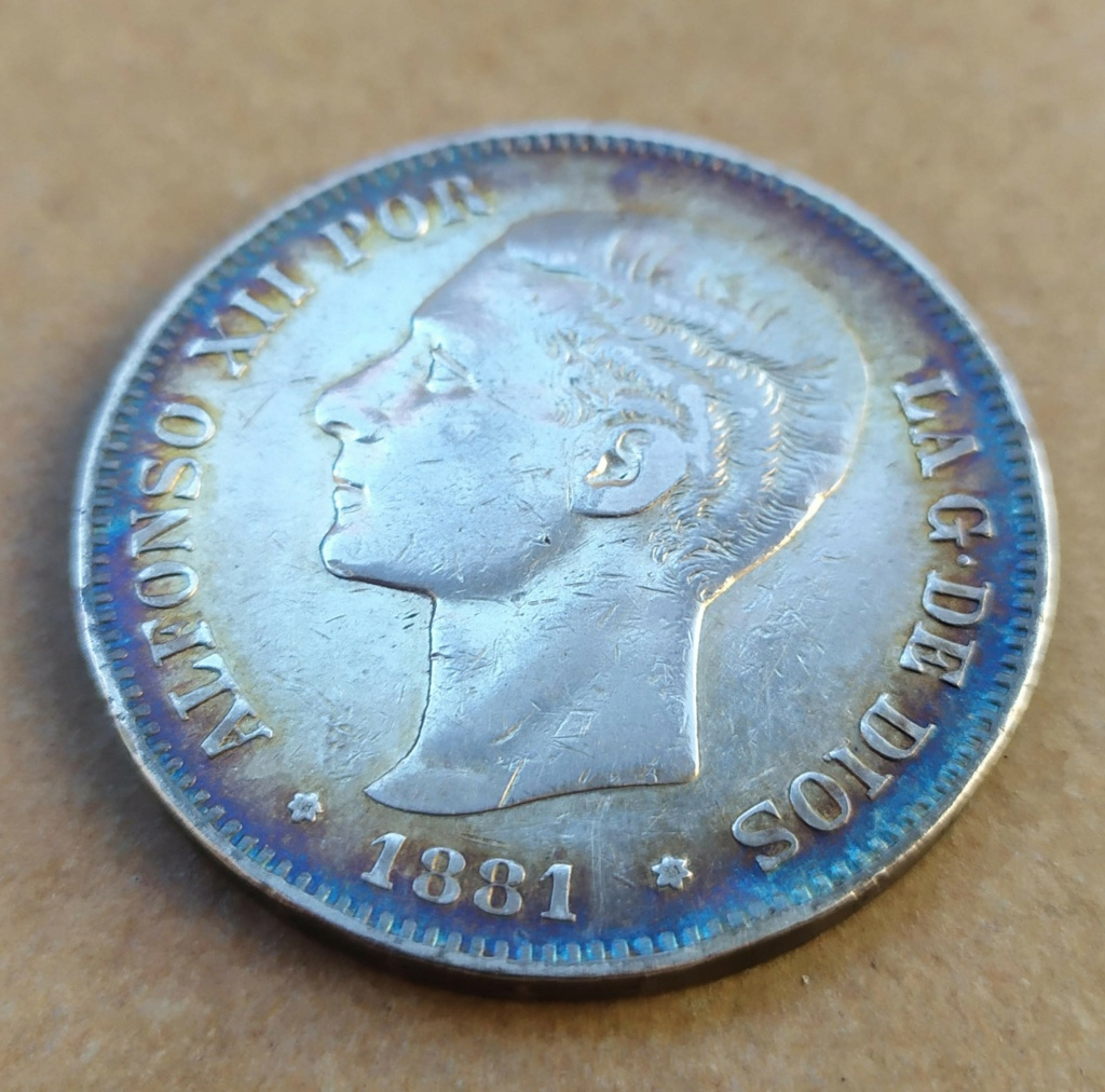 5 pesetas 1881 110